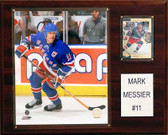 "NHL 12""x15"" Mark Messier New York Rangers Player Plaque"