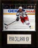 "NHL 12""x15"" Ryan Callahan New York Rangers Player Plaque"