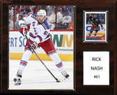 "NHL 12""x15"" Rick Nash New York Rangers Player Plaque"