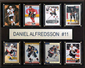 "NHL 12""x15"" Daniel Alfredsson Ottawa Senators 8-Card Plaque"