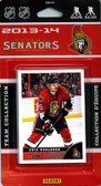 NHL Ottawa Senators 2013 Score Team Set
