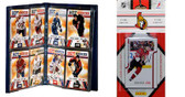 NHL Ottawa Senators Licensed 2011 Score Team Set and Storage Album