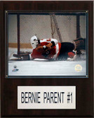 "NHL 12""x15"" Bernie Parent Philadelphia Flyers Player Plaque"