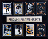 "NHL 12""x15"" Pittsburgh Penguins All-Time Greats Plaque"