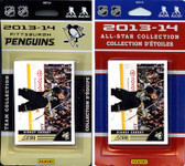 NHL Pittsburgh Penguins Licensed 2013-14 Score Team Set and All-Star Set