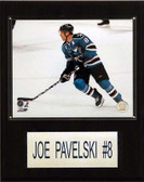 "NHL 12""x15"" Joe Pavelski San Jose Sharks Player Plaque"