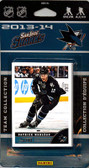 NHL San Jose Sharks 2013 Score Team Set