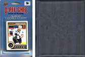 NHL San Jose Sharks 2014 O-Pee-Chee Team Set and a storage album