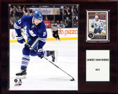 "NHL 12""x15"" James Van Riemsdyk Toronto Maple Leafs Player Plaque"