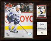 "NHL 12""x15"" Dion Phaneuf Toronto Maple Leafs Player Plaque"