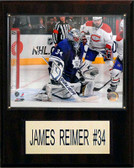 "NHL 12""x15"" James Reimer Toronto Maple Leafs Player Plaque"
