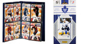 NHL Toronto Maple Leafs Licensed 2011 Score Team Set and Storage Album