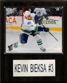 "NHL 12""x15"" Kevin Bieska Vancouver Canucks Player Plaque"