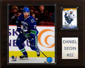 "NHL 12""x15"" Daniel Sedin Vancouver Canucks Player Plaque"