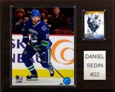 "NHL 12""x15"" Daniel Sedin Vancouver Canucks Player Plaque"