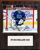 "NHL 12""x15"" Ryan Miller Vancouver Canucks Player Plaque"