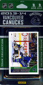 NHL Vancouver Canucks 2013 Score Team Set