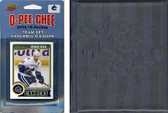 NHL Vancouver Canucks 2014 O-Pee-Chee Team Set and a storage album