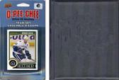 NHL Vancouver Canucks 2014 O-Pee-Chee Team Set and a storage album