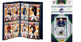 NHL Vancouver Canucks Licensed 2011 Score Team Set and Storage Album