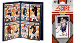 NHL Washington Capitals Licensed 2011 Score Team Set and Storage Album