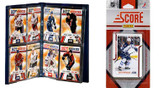 NHL Winnipeg Jets Licensed 2011 Score Team Set and Storage Album