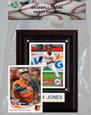 MLB Baltimore Orioles Party Favor With 4x6 Plaque