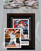 MLB Cincinnati Reds Party Favor With 4x6 Plaque