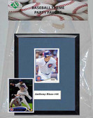 MLB Chicago Cubs Party Favor With 6x7 Mat and Frame