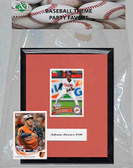 MLB Baltimore Orioles Party Favor With 6x7 Mat and Frame