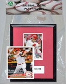 MLB Boston Red Sox Party Favor With 6x7 Mat and Frame