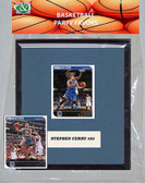 NBA Golden State Warriors Party Favor With 6x7 Mat and Frame