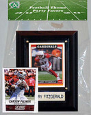 NFL Arizona Cardinals Party Favor With 4x6 Plaque