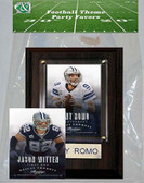 NFL Dallas Cowboys Party Favor With 4x6 Plaque