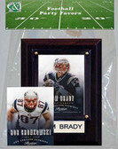 NFL New England Patriots Party Favor With 4x6 Plaque