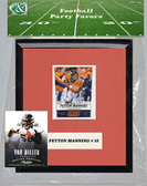 NFL Denver Broncos Party Favor With 6x7 Mat and Frame