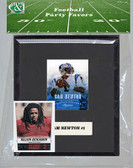 NFL Carolina Panthers Party Favor With 6x7 Mat and Frame