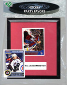 NHL Colorado Avalanche Party Favor With 6x7 Mat and Frame
