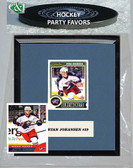 NHL Columbus Blue Jackets Party Favor With 6x7 Mat and Frame