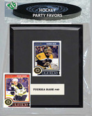 NHL Boston Bruins Party Favor With 6x7 Mat and Frame