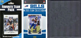 NFL Buffalo Bills Licensed 2015 Score Team Set and Favorite Player Trading Card Pack Plus Storage Album