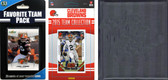 NFL Cleveland Browns Licensed 2015 Score Team Set and Favorite Player Trading Card Pack Plus Storage Album