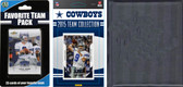 NFL Dallas Cowboys Licensed 2015 Score Team Set and Favorite Player Trading Card Pack Plus Storage Album