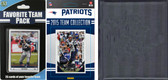 NFL New England Patriots Licensed 2015 Score Team Set and Favorite Player Trading Card Pack Plus Storage Album