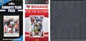 NFL Tampa Bay Buccaneers Licensed 2015 Score Team Set and Favorite Player Trading Card Pack Plus Storage Album