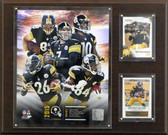 "NFL 12""x15"" Pittsburgh Steelers  2015 Team Plaque"