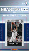 NBA Brooklyn Nets Licensed 2015 Hoops Team Set