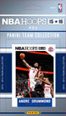 NBA Detroit Pistons Licensed 2015 Hoops Team Set