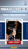 NBA Houston Rockets Licensed 2015 Hoops Team Set