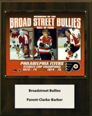 "NHL 12""x15"" Clarke- Parent- Barber Philadelphia Flyers Player Plaque"